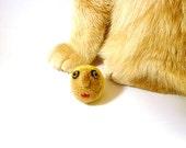 Game of Thrones Joffrey Lannister Baratheon Catnip Cat Toy  - Needle Felted Wool