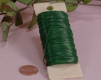 22 Gauge Green Florist Wire, 110 feet Floral Wire