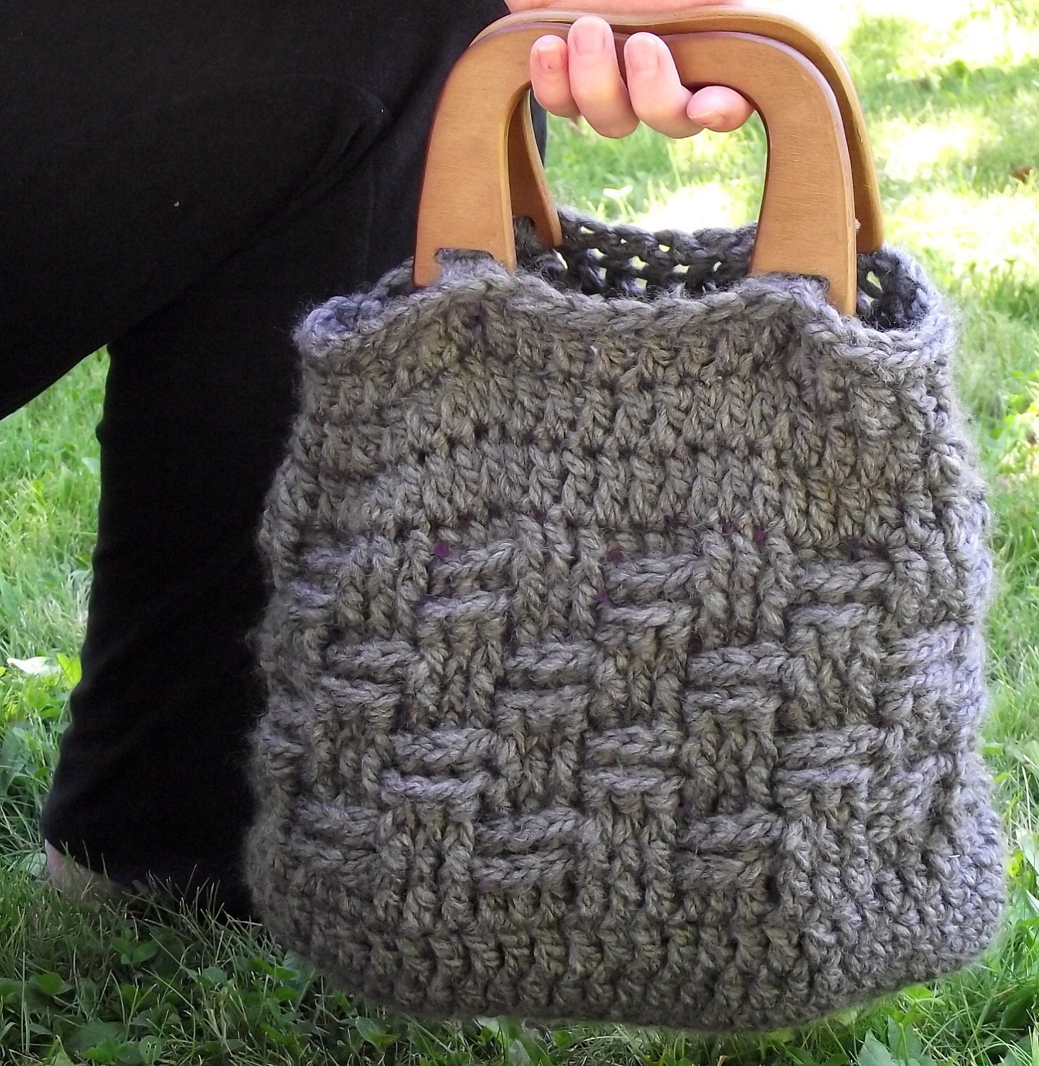 handles free crochet purse patterns wooden handles crochet bags ...