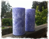 Lavender and Chamomile Palm Wax Pillars