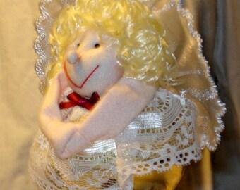 Bellbottom Angel Ornament