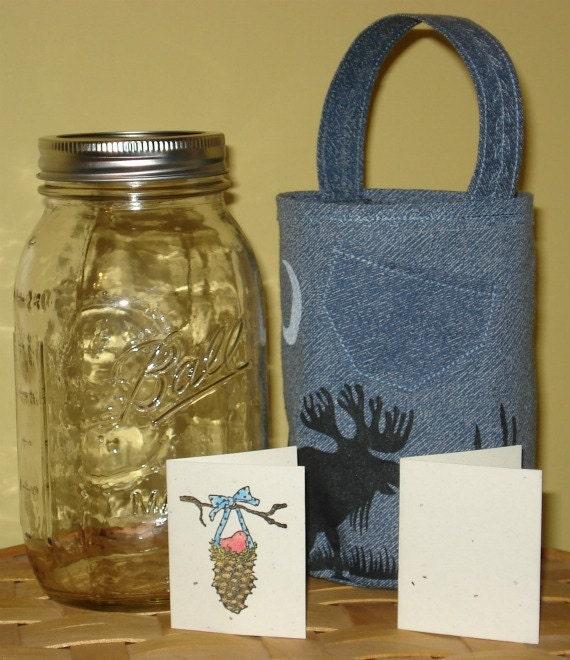 Jar Tote Gift Package - Moose