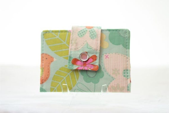Fabric Wallet, Gift Card Holder, Business Card Case