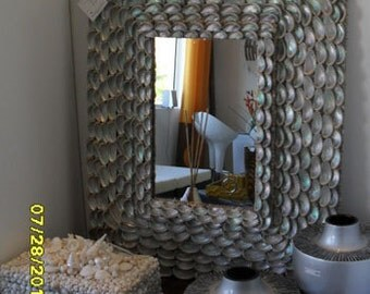 Sea Shell Mirror....inspired by VIZCAYA MUSEUM GARDENS Grottoes
