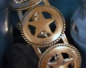 Silver Lone Star Cuff Bracelet From Our ReRide Pen