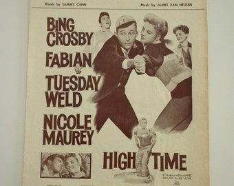 Bing Crosby The Second Time Around Music Sheet