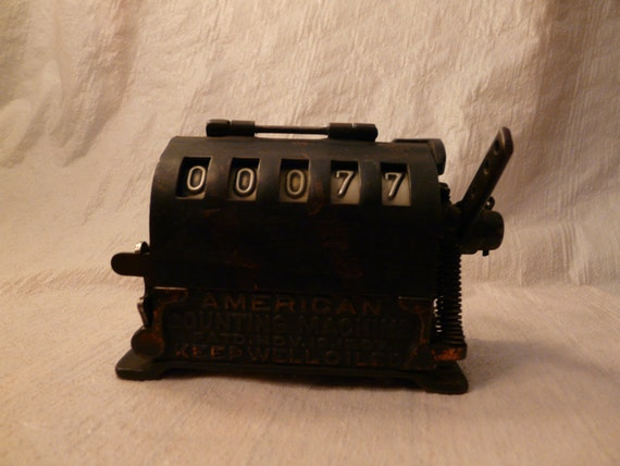 Antique American Counting Machine