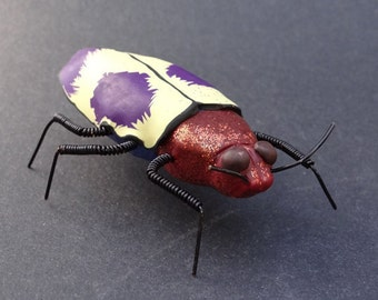 Insect Art Insect Sculpture Bug Sculpture Jewell Beetle Sculpture Insect Ornament (BTL-0008)