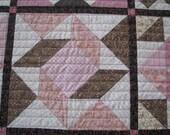 Baby Quilt - Patchwork Quilt, Sampler Quilt