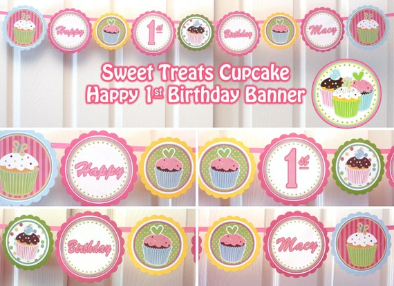 Cupcake Birthday Party Sweet Treats Cupcake Party Happy Birthday