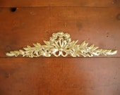 Vintage ORNATE BRASS Topper