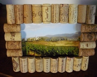 5x7 Wine Cork Picture Frame