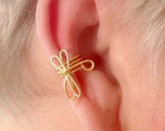 Dragonfly Ear Cuff Non Pierced