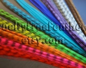 50 Synthetic Feather Extensions