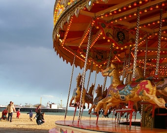 Fine Art Photography - 'Brighton Carousel' - A4 print (also available as A3 A2 & other sizes).