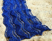"Nautical Lace Scarf ""Sainte-Marie"" PDF KNITTING PATTERN"