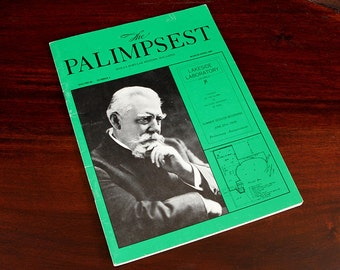 The Palimpsest Iowas Popular History Magazine March April 1985 Lakeside Laboratory Okoboji
