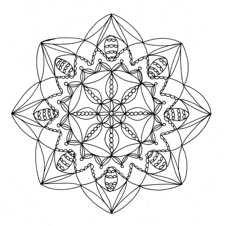 mandala coloring pages download - photo#17
