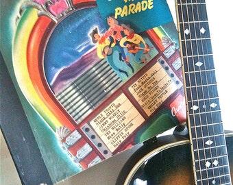 Vintage 3 Disc 78 RPM SET Capitol Records Cowboy Hit Parade