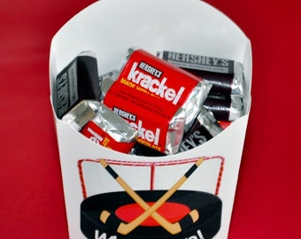 WHAT A SAVE!  Hockey Party Favors,  Birthday Party Favors, Glamorous Sweet Events