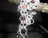 Gemstone Stepping Stones Bracelet
