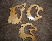 Wolf. Eagle, and Wild Horse Decorations