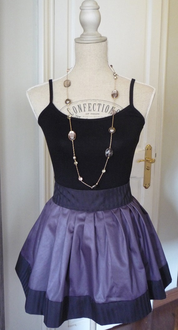 FREE SHIPPING  Purple circle Skirt available as Maternity clothing