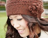 Brown Winter Toque - Winter Accessories - Milk Chocolate Brown, Warm and Cozy - 15% OFF