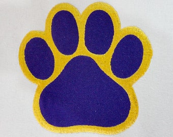 Instant Download - PAW Print 076  - Machine Embroidery Design -