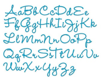 "Bx format - Embroidery Font 203 -  Machine Embroidery Font  -  Sizes 1 "", 2  "",3  "" Instant download"