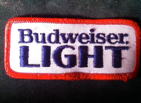 Budweiser Light Patch