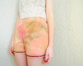 Hand-Dyed Daydreams Girl Boxers, Pajama Shorts, Pajama Bottoms, Lingerie