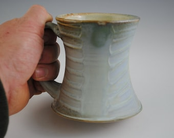 Pale Blue Green Stoneware Mug