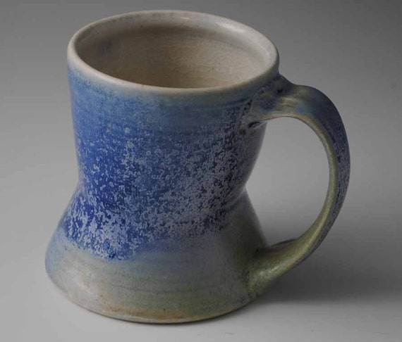 Bright Blue Stoneware Mug