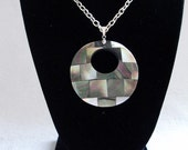Necklace with Mother Pearl Pendant