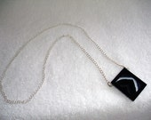 Necklace with Onyx Pendant