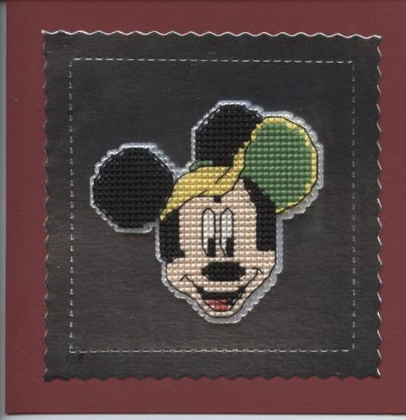 Mickey Mouse design greetings card