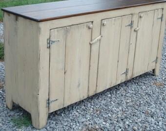 Primitive TV Stands, Primitive Sideboards, KK Furniture