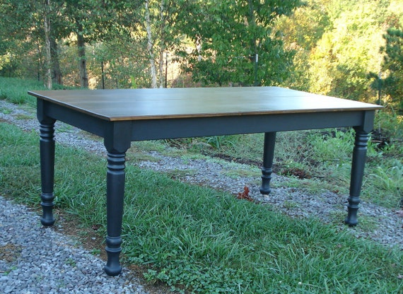 Farmhouse tables on etsy kitchen table dining room table for Dining room tables etsy
