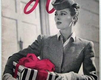 Crochet Magazine Vintage 1944