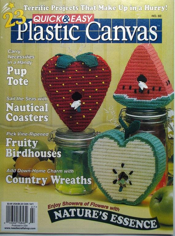 Bird House Plastic Canvas Pattern Magazine