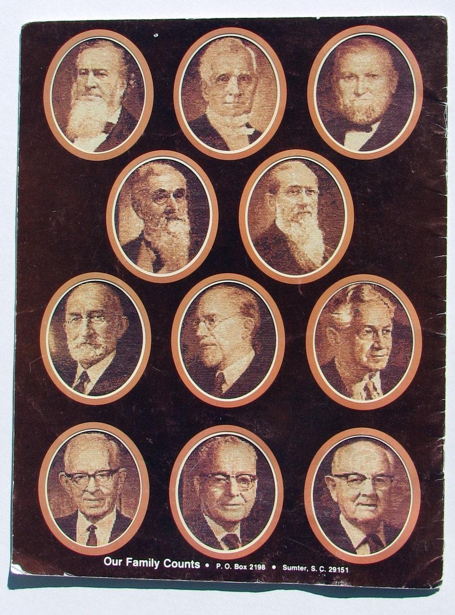 Lds Prophets Cross Stitch Booklet