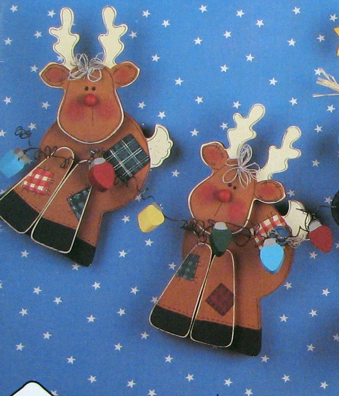 Christmas Wood Craft Pattern Reindeer