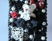 SALE - Red Gothic Lolita Princess Bear - iPhone 4 case Free Shipping Within US