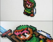 Link to the Past Holding Sword magnet