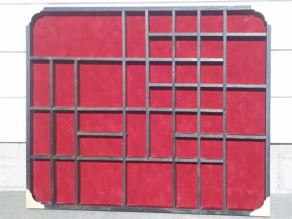 SALE PRICE Jewelry storage box-Refinish printers drawer