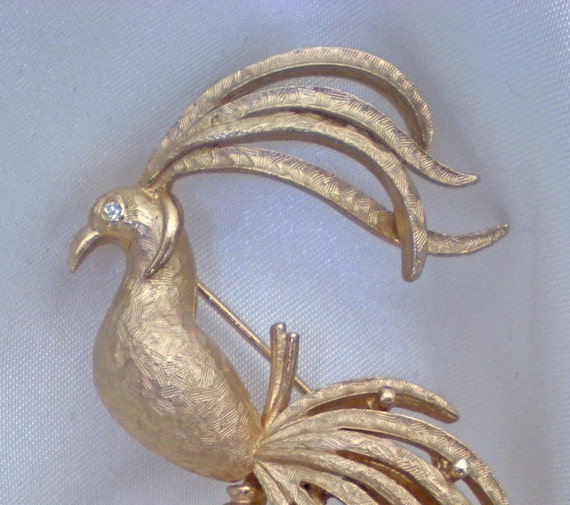 Avon Bird of Paradise brooch in mint condition sale price