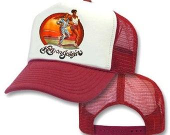 KEEP ON JOGGIN' Mesh Trucker Hat Cap