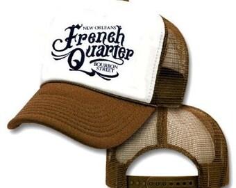 French Quarter New Orleans Mesh Trucker Hat Cap