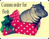 Custom Christmas Chalkboard Tags for Beth